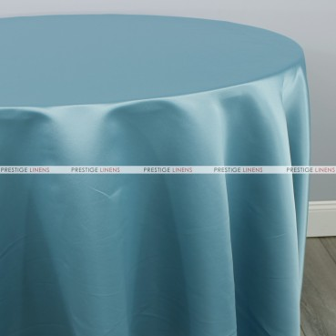 Lamour Matte Satin Table Linen - 729 Seafoam