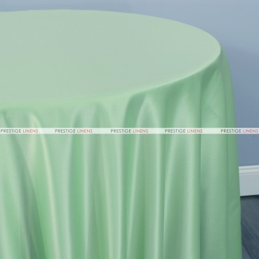 Lamour Matte Satin Table Linen - 730 Mint