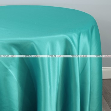 Lamour Matte Satin Table Linen - 731 Jade
