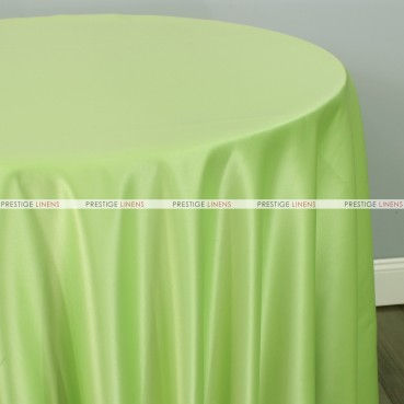 Lamour Matte Satin Table Linen - 742 Pucci Lime