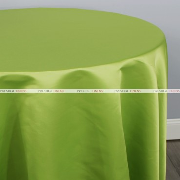 Lamour Matte Satin Table Linen - 749 Dk Lime
