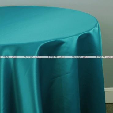 Lamour Matte Satin Table Linen - 764 Lt Teal