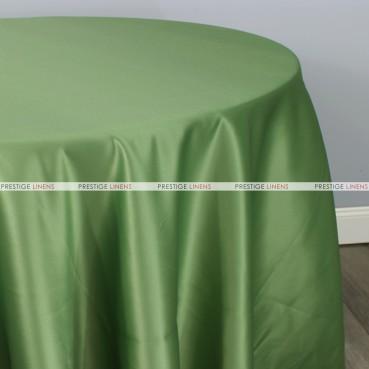 Lamour Matte Satin Table Linen - 829 Dk Sage