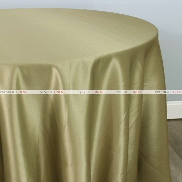 Lamour Matte Satin Table Linen - 840 Moss Green