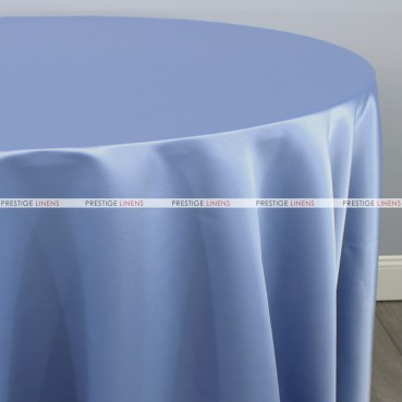 Lamour Matte Satin Table Linen - 928 Sky Blue