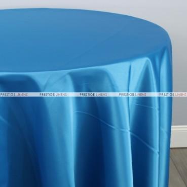 Lamour Matte Satin Table Linen - 932 Turquoise