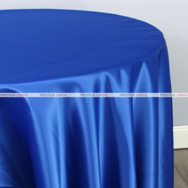 Lamour Matte Satin Table Linen - 933 Royal