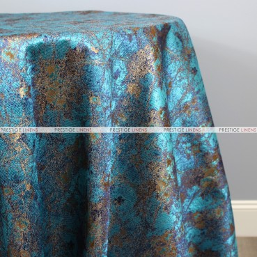 TIBUR TABLE LINEN - AQUAMARINE