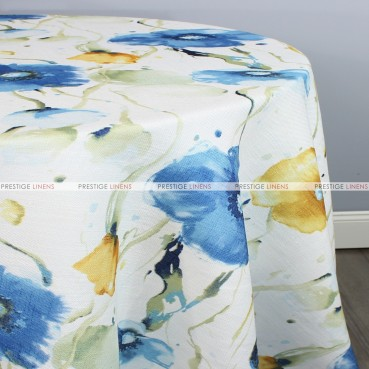 BOTANICAL TABLE LINEN - BLUE