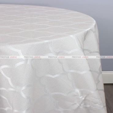 CASANOVA TABLE LINEN - PEARL