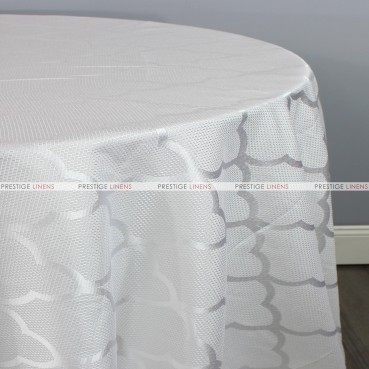 CASANOVA TABLE LINEN - WHITE