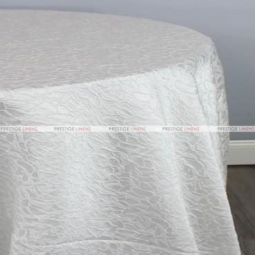 CONCORD TABLE LINEN - WHITE