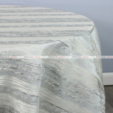 MINERAL TABLE LINEN - SILVER