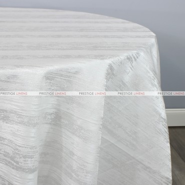 MINERAL TABLE LINEN - WHITE