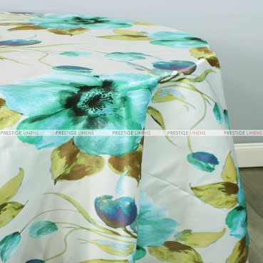 Perennial Table Linen - Turquoise