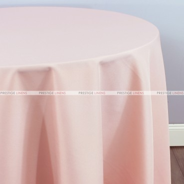 Polyester (Double Width) Table Linen - 567 Blush Pink