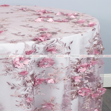 JEMSTONE TABLE LINEN - DUSTY ROSE