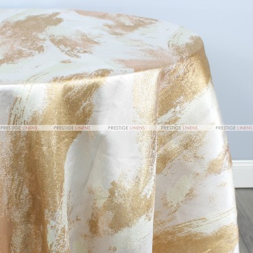 BRUSHSTROKE TABLE LINEN - NUGGET