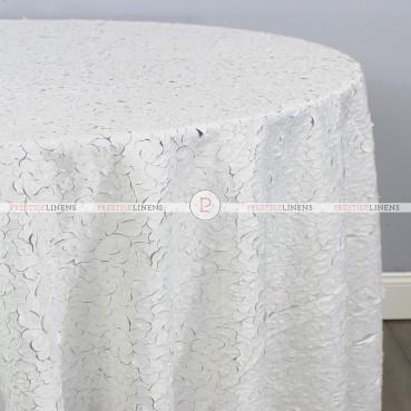 MAGNOLIA TABLE LINEN - WHITE