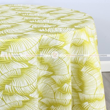 FERN TABLE LINEN - CITRON