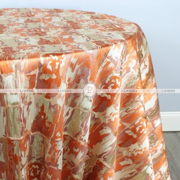 GENOVA TABLE LINEN - MANDARIN