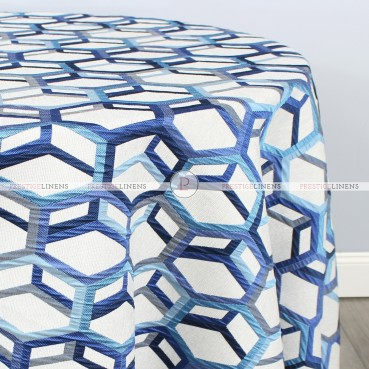 OCULAR TABLE LINEN - BLUE