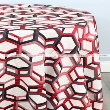OCULAR TABLE LINEN - RED