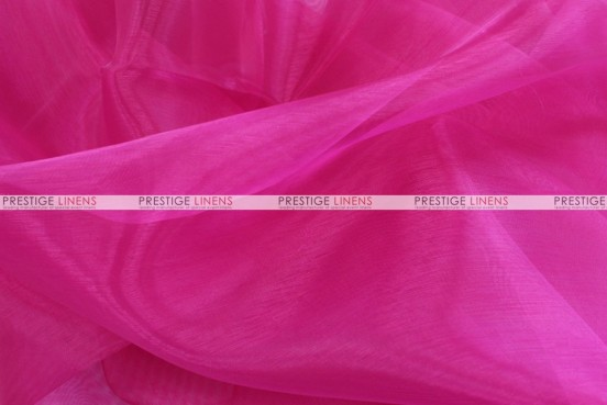 Mirror Organza Table Linen - 528 Hot Pink