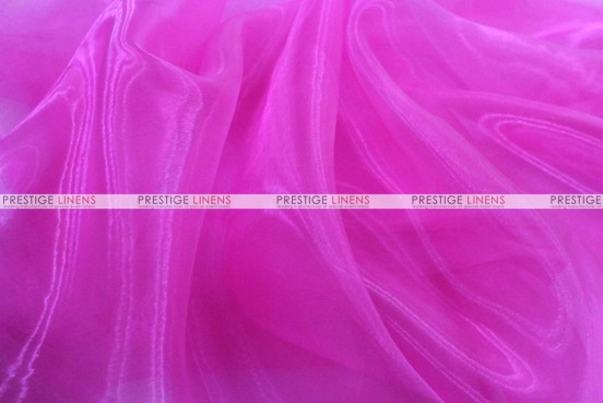 Mirror Organza Table Linen - 529 Fuchsia