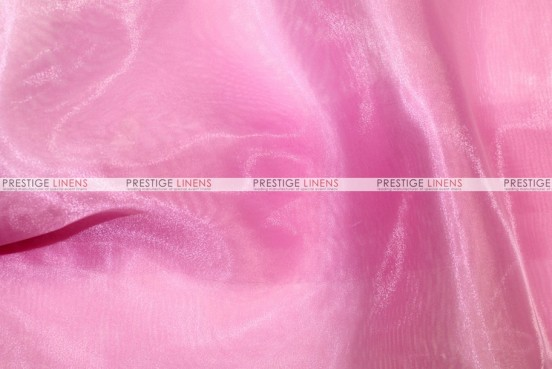 Mirror Organza Table Linen - 539 Candy Pink