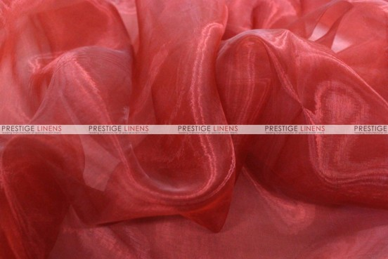 Mirror Organza Table Linen - 627 Cranberry