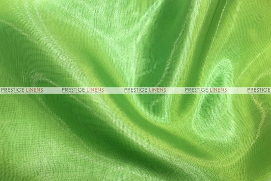 Mirror Organza Table Linen - 726 Lime