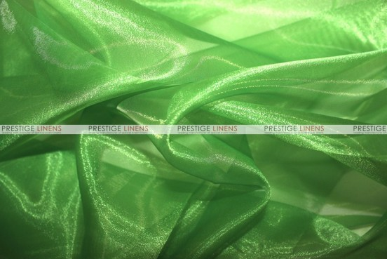 Mirror Organza Table Linen - 727 Flag Green
