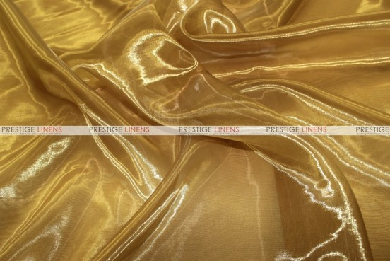 Mirror Organza Table Linen - 229 Dk Gold