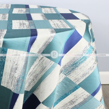COSMOPOLITAN TABLE LINEN - AQUAMARINE