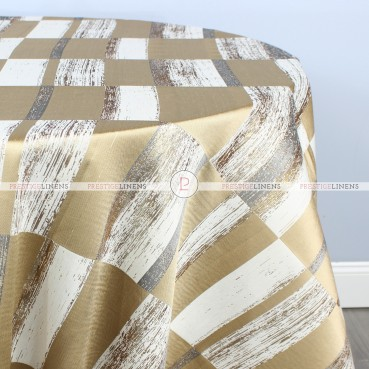 COSMOPOLITAN TABLE LINEN - GOLD