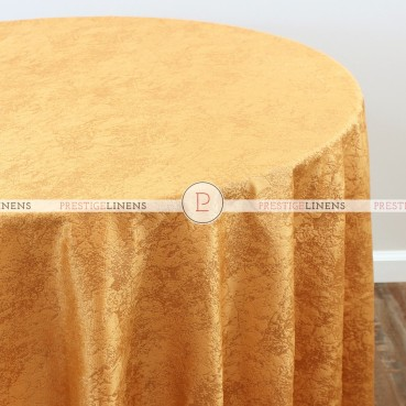 CRYSTAL VELVET TABLE LINEN - GOLD