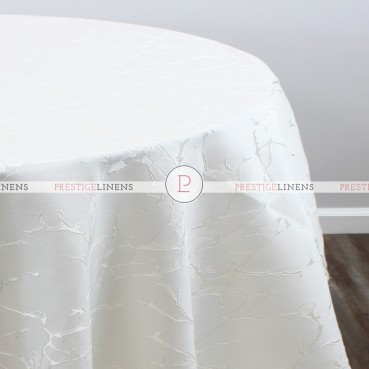 ARCTIC JACQUARD TABLE LINEN - IVORY