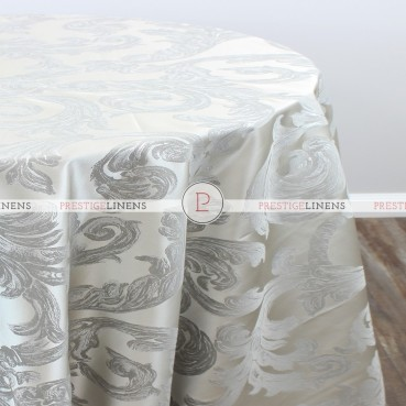 RENAISSANCE TABLE LINEN - SILVER