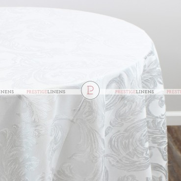 RENAISSANCE TABLE LINEN - WHITE