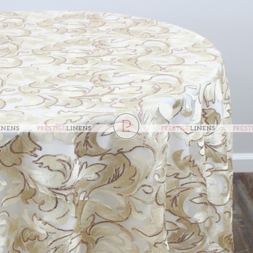 CASA BLANCA TABLE LINEN - CHAMPAGNE