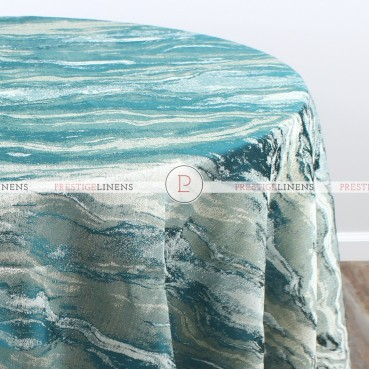 EVENING SKY TABLE LINEN - EMERALD