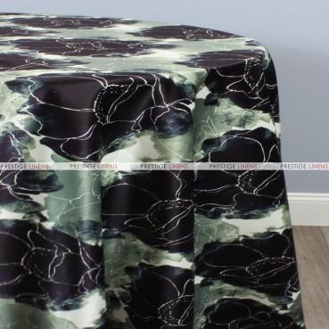 Dahlia Table Linen - Plum