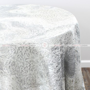 STARRY NIGHT TABLE LINEN - SILVER