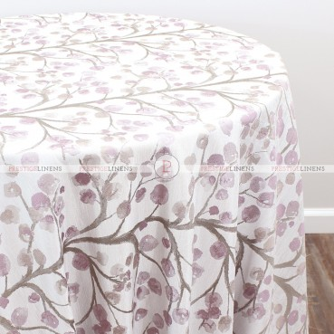 CHERRY BLOSSOM TABLE LINEN - CHERRY