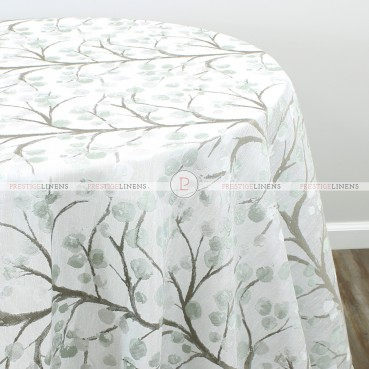 CHERRY BLOSSOM TABLE LINEN - MISTY