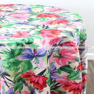 FLOWER BLOSSOM TABLE LINEN - ROSE MULTI