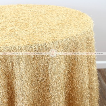 MINKY TABLE LINEN - GOLD