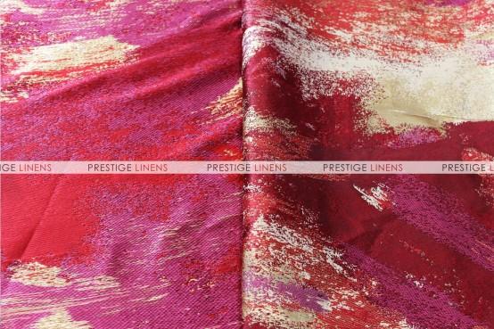 Brushstroke Napkin - Red