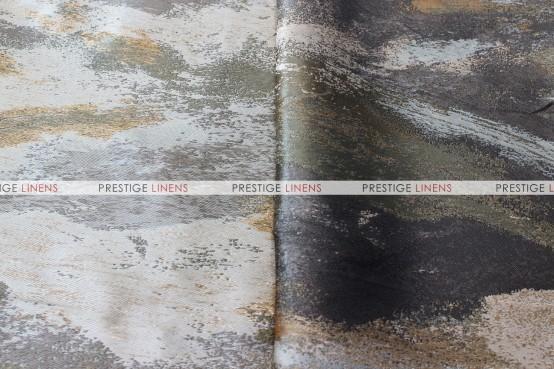 Brushstroke Napkin - Silver/Gold